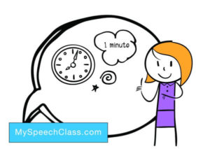 1 minute speech topics
