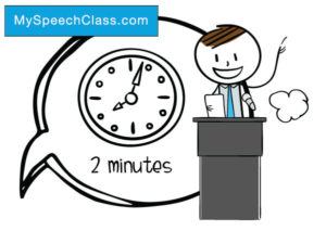 2 minute speech topics