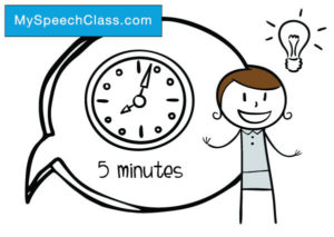 5 minute speech topics