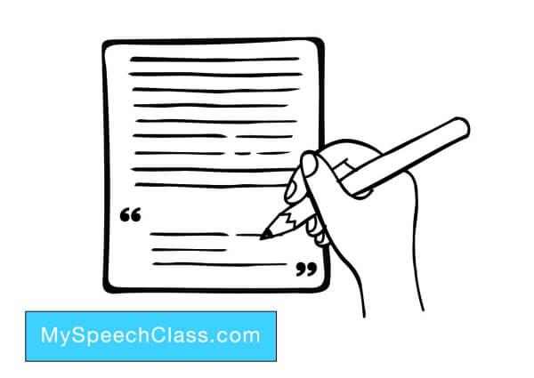 introducing a classmate speech samples
