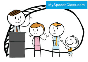 family speech topics