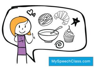 food drink cooking speech topics