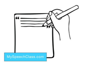 intro public speech writing
