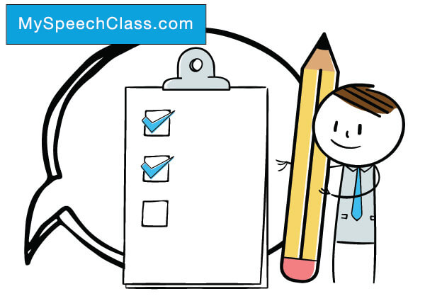 Speech and essay