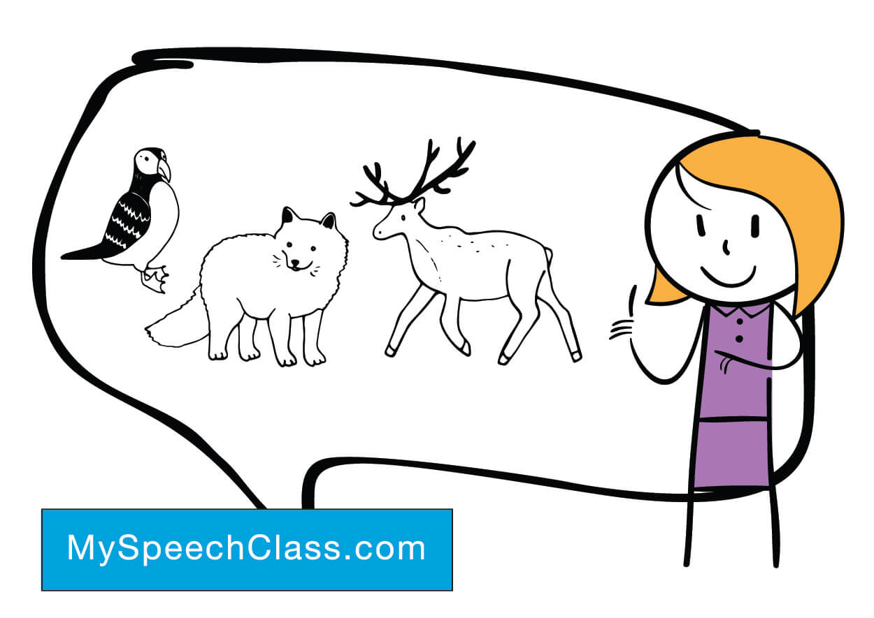 dog speech topics