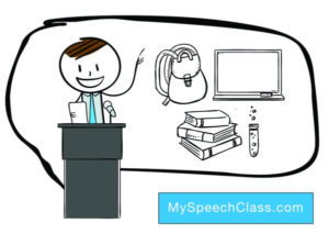 simple speech topics for kids