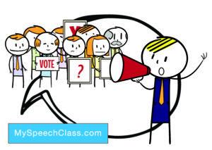 speech topics politics