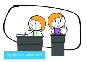 speech writing delivery
