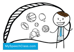 example informative speech about basketball