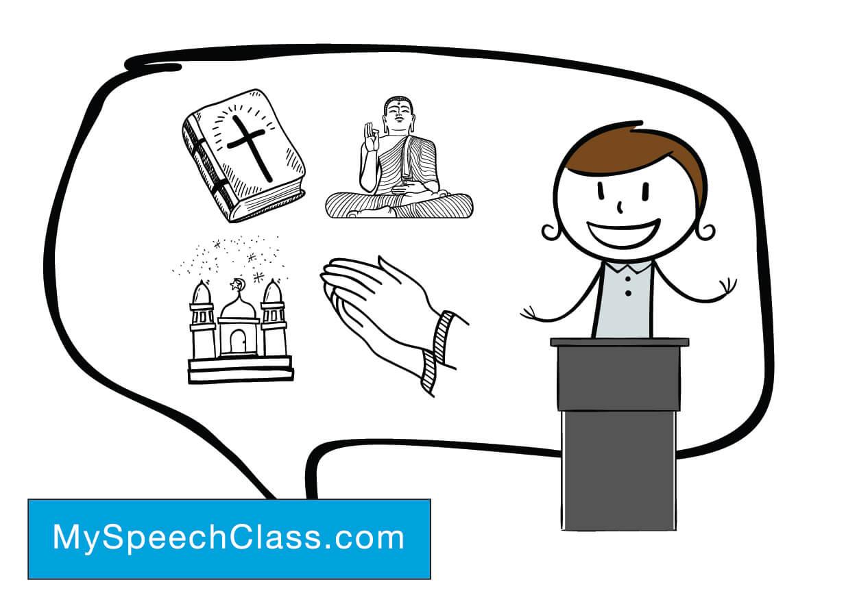 60 Speech Topics on Religion and Spirituality [Persuasive