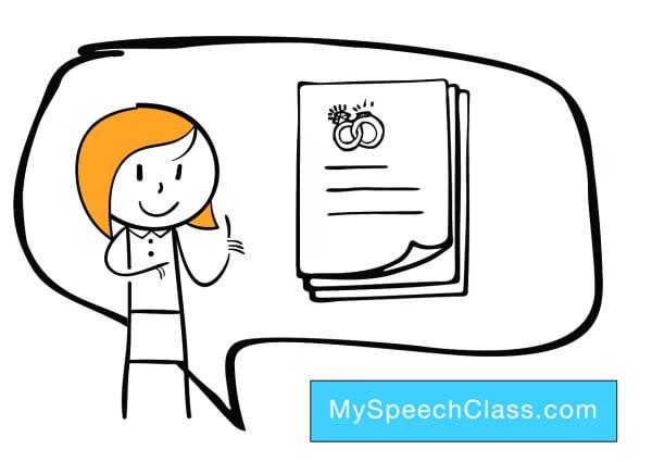 Wedding Speech [Topics + Template] • My Speech Class